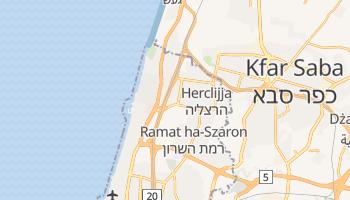 Herclijja - szczegółowa mapa Google