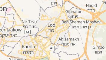 Lod - szczegółowa mapa Google