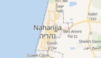 Naharija - szczegółowa mapa Google