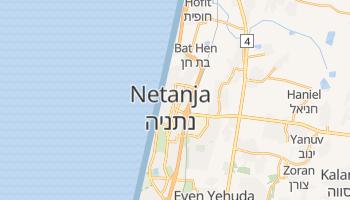 Netanja - szczegółowa mapa Google