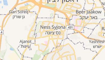 Nes Cijjona - szczegółowa mapa Google