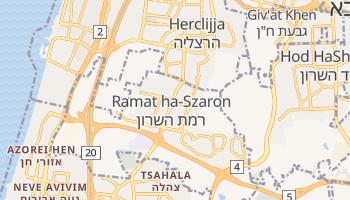 Ramat ha-Szaron - szczegółowa mapa Google
