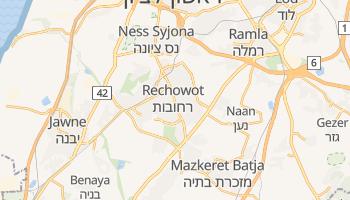 Rechowot - szczegółowa mapa Google