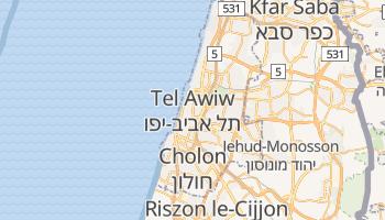 Tel Awiw-Jaffa - szczegółowa mapa Google