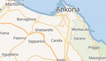 Ankona - szczegółowa mapa Google