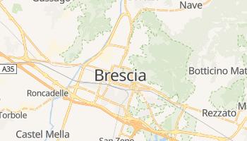 Brescia - szczegółowa mapa Google