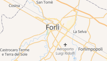 Forlì - szczegółowa mapa Google