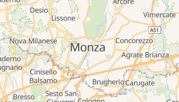 Monza - szczegółowa mapa Google