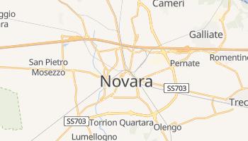 Novara - szczegółowa mapa Google
