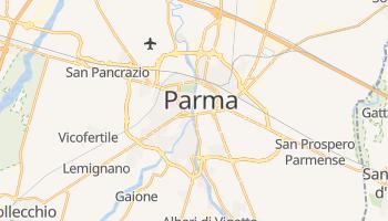 Parma - szczegółowa mapa Google