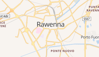 Rawenna - szczegółowa mapa Google
