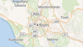 Rzym - szczegółowa mapa Google
