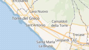 Torre del Greco - szczegółowa mapa Google