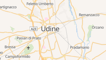 Udine - szczegółowa mapa Google
