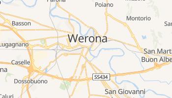 Werona - szczegółowa mapa Google