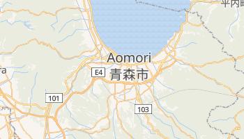 Aomori - szczegółowa mapa Google