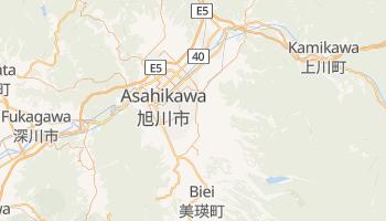Asahikawa - szczegółowa mapa Google