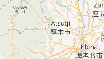 Atsugi - szczegółowa mapa Google
