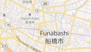 Funabashi - szczegółowa mapa Google