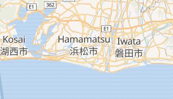 Hamamatsu - szczegółowa mapa Google