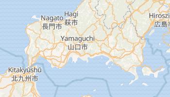 Iwakuni - szczegółowa mapa Google