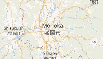 Morioka - szczegółowa mapa Google