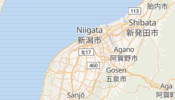 Niigata - szczegółowa mapa Google