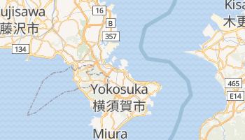 Yokosuka - szczegółowa mapa Google