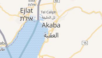 Akaba - szczegółowa mapa Google