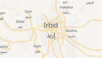 Irbid - szczegółowa mapa Google