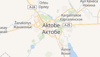 Aktobe - szczegółowa mapa Google
