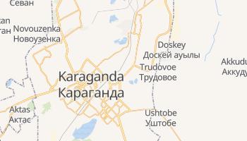 Karaganda - szczegółowa mapa Google