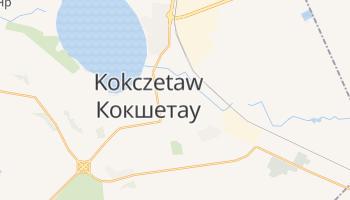 Kokczetaw - szczegółowa mapa Google