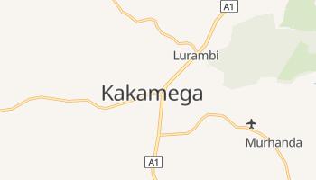 Kakamega - szczegółowa mapa Google