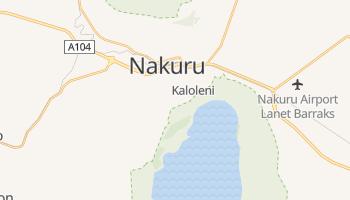 Nakuru - szczegółowa mapa Google