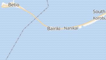 Bairiki - szczegółowa mapa Google