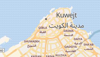 Kuwejt - szczegółowa mapa Google