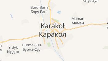 Karakoł - szczegółowa mapa Google