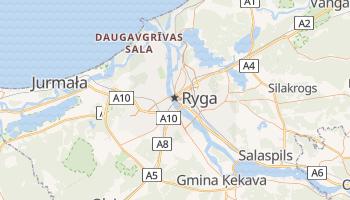 Ryga - szczegółowa mapa Google