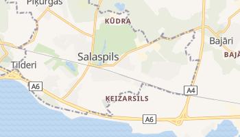 Salaspils - szczegółowa mapa Google