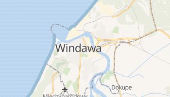 Windawa - szczegółowa mapa Google