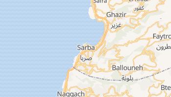 Dżunija - szczegółowa mapa Google