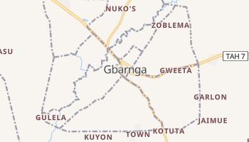 Gbarnga - szczegółowa mapa Google