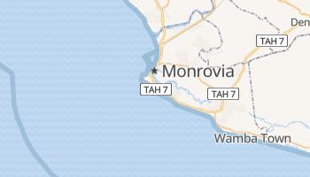Monrowia - szczegółowa mapa Google