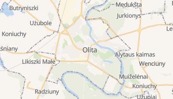 Olita - szczegółowa mapa Google