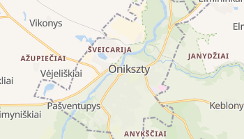 Onikszty - szczegółowa mapa Google