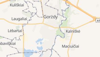 Gorżdy - szczegółowa mapa Google