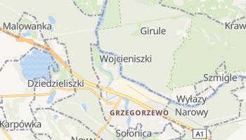 Grzegorzewo - szczegółowa mapa Google