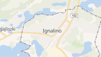 Ignalino - szczegółowa mapa Google