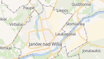 Janów nad Wilią - szczegółowa mapa Google